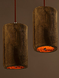 Modern Pendant Lights Loft Industrial Vintage Light Fixtures Cement Parlor Lustre Home Indoor Stair Lighting