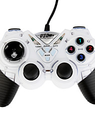 USB-908 Double Shock Controller White