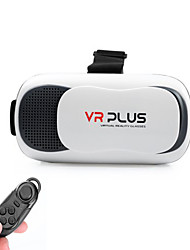 VR PLUS Version Virtual Reality 3D Glasses + Bluetooth Controller For 4.5 - 6 inch Smartphones