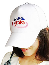 Fashion Unisex Cotton Blend Baseball Cap,Casual Spring / Summer / Fall(Size Adjustable)