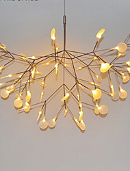 Innovation Firefly Pendant Light Modern Northern Europe Modern Creative Snowflake Tree Leaf Pendant Lamps Lightings