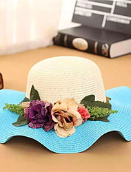 Women Straw Straw Hat,Vintage / Cute / Casual Summer
