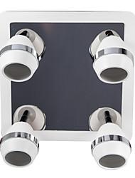 LED Modern Spherical Chrome Wall Lights/Bathroom Lights With 4 Lights 12W (AC100-240V)