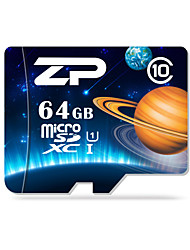 ZP 64Go TF carte Micro SD Card carte mémoire UHS-I U1 Class10