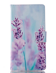 For Samsung Galaxy A7(2016) Card Holder with Stand Flip Magnetic Full Body Cartoon PU Leather A7100
