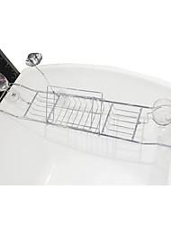 Prateleira de Banheiro / Suporte para Escova de Dentes / Cesto para Box de Banheiro,Contemporâneo Cromado De Parede