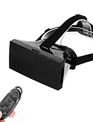 "VR BOX VR Virtual Reality 3D Glasses +Smart Bluetooth Wireless Mouse/Remote Control Gamepad for 4 ~ 6"" Mobile Phone"