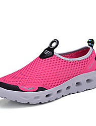 Women's Shoes Tulle Spring / Summer / Fall Platform / Creepers / Comfort / Round Toe Loafers Outdoor / Casual / Athletic Platform Slip-on