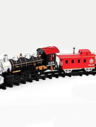 klassische elektrische Spielzeug-Batterie betrieben Eisenbahnschiene Zug mit Sound + Light + Rauchen