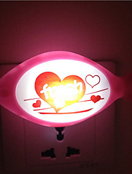Creative Warm White Fish Light Sensor Relating to Baby Sleep Night Light(Random Color)