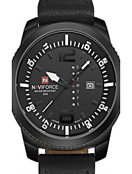Naviforce Watch Men quartz-watch Clock Men Luxury Brand Leather Army Military Wrist Watch relogios masculinos Cool Watch Unique Watch