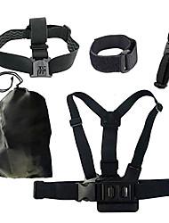 Accessoires pour GoPro,Harnais Poitrine / Sangle de poitrine Fixation Frontale Sacs Avec Bretelles Sangle de Poignet FixationPour-Caméra