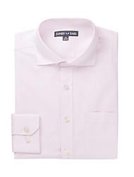 JamesEarl Herren Hemdkragen Lange Ärmel Shirt & Bluse Rosa-DA112030302