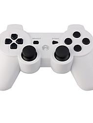 recargable mando inalámbrico USB para ps3 (blanco)