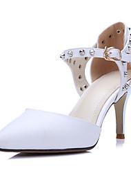 Zapatos de mujer-Tacón Stiletto-Tacones / Tira en el Tobillo / D'Orsay y Dos Piezas / Puntiagudos-Sandalias-Oficina y Trabajo / Fiesta y