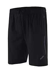 Arsuxeo Men's Running Shorts Quick Dry Breathable Soft Lightweight Materials Reflective Strips Reduces Chafing Shorts Bottoms for Yoga