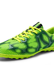 Men's Shoes Synthetic Athletic Shoes Soccer Lacing Training Soccer Shoes  Golden / Green / Silver / Red