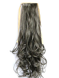 Lavés noir longueur 60cm europe et aux États-Unis un (4a couleur / 613) perruque