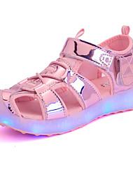 LED-Licht-up Schuhe Sandalen leuchten Schuhe synthetische lässig LED blau gelb pink