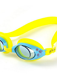 Kid's  Sports Modern Fashion Polycarbonate Swimming Goggles(Assorted Color)