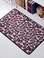 "Casual Style Coral Velvet Material Non-Slip Mat W16"" x L24"""