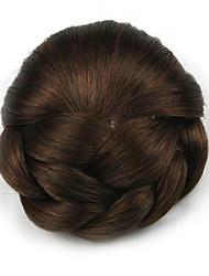 Kinky кудрявый коричневого европы невесты человеческих волос монолитным парики шиньоны dh102 2009
