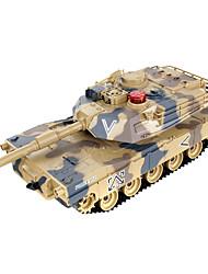 contra los tanques padre-hijo en contra del control remoto por infrarrojos modelo torreta desfile tanque de juguete de niño 2