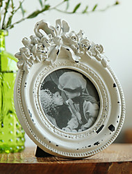 Vintage Theme Resin Photo Frames / Photo Albums / Room Signs White