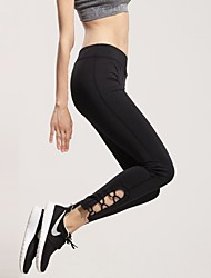Running Tights / Pants/Trousers/Overtrousers / Bottoms Women's Quick Dry / Compression / Lightweight Materials / Sweat-wicking / Stretch