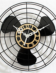 Electric Fan Wall Clock