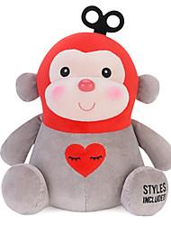 Metoo Microphone Rabbit Plush Toy Monkey  Sunpoo Monkey Mascot Red Love Creative Birthday Gift 7 Inch