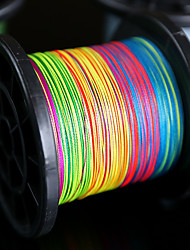 500M / 550Yards Super Strong Multifilament 100% PE Braided Fishing Line 8LB to 120LB Japan Quality Multicolored