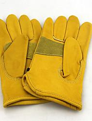 cowhide wear-resistin non-slip soft glove