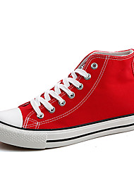 Men's Shoes Casual Canvas Fashion Sneakers Black / Blue / Red / White