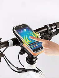 "Roswheel® 5.5 "" Phone Bicycle Bag Handlebar Case Touch Screen Bike Bag Pouch Waterproof 840D Polyester PVC Cycling Bags"
