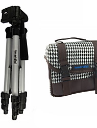 ismartdigi i101 White Camera Bag+ir120 3 Sections Tripod for All DSLR and Mini DSLR DV Nikon Canon Sony Olympus