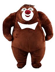 New Bear Bear Two Bald Strong Plush Doll Plush Toy Bear Infested Bear Setsurei Wind Stuffed Bear Large 28Cm