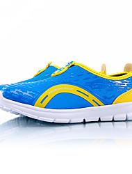 Per bambino / Per bambina-Sneakers-Casual-Comoda-Piatto-Tulle-Blu / Rosso