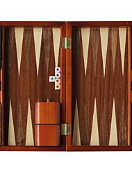 маточное ул новый 13-дюймовый деревянные баккара шахматы нарды из массива дерева деревянные кости чашки акриловые кости зебру