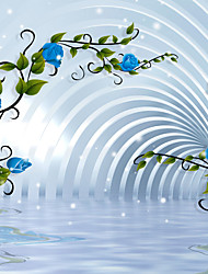 Mural Art Deco Papel de parede Contemporâneo Revestimento de paredes,Tela Sim