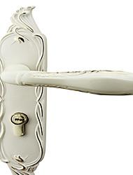 Tipo elegante bloqueio branco marfim