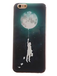 Pour Coque iPhone 6 / Coques iPhone 6 Plus IMD Coque Coque Arrière Coque Ballon Flexible TPU Apple iPhone 6s Plus/6 Plus / iPhone 6s/6