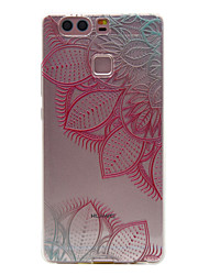 For Huawei Case Ultra-thin / Transparent Case Back Cover Case Mandala Soft TPU Huawei