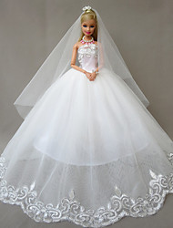 Wedding Dresses For Barbie Doll White Dresses