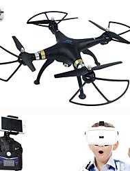 SJRC T70VR VR 3D WiFi FPV 2.4G 4CH 6-Axis Headless Mode RC Quadcopter RTF 720P HD Camera VR Glasses Quadcopter