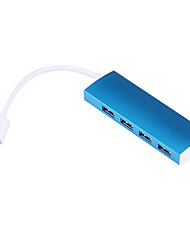 USB 3.0 4 portas / interface USB hub magro 11 * 3 * 2