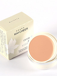 MAYCHEER Brand Face Concealer Perfect Flawless Brighten Cream Foundation Base Makeup Natural Matte 20g