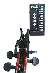 Electronic Tuners Violin Musical Instrument Accessories Plastic Black