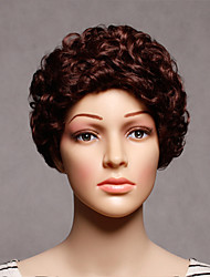 Fashion Synthetic Wigs Brown Wave Style Top Quality Wigs