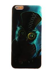 Pour Coque iPhone 6 / Coques iPhone 6 Plus Motif Coque Coque Arrière Coque Chouette Flexible TPU Apple iPhone 6s Plus/6 Plus / iPhone 6s/6
